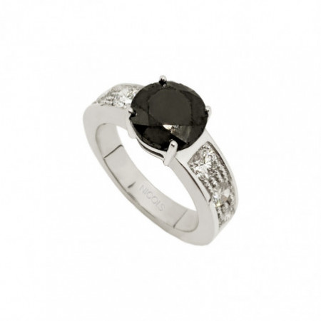 AMELIE Black Diamond Ring