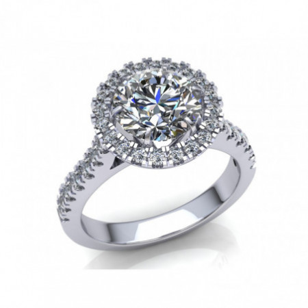 Solitaire Ring KIRA 1.50Ct