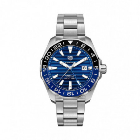 TAG HEUER AQUARACER 300M CALIBRE 7 GMT 43MM BATMAN