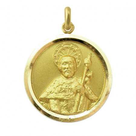 Medalla Santiago Apóstol Oro 18 kt.