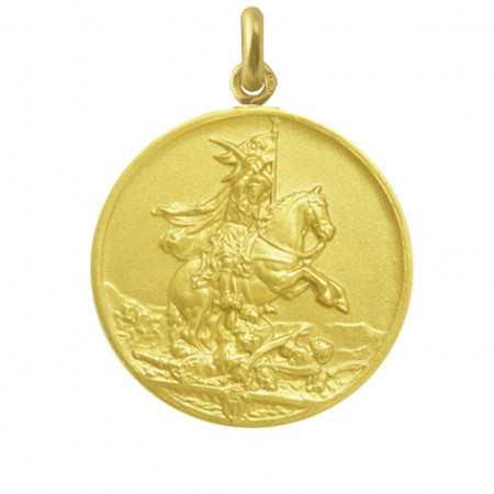 Medalla San Jaime Oro 18 kt.