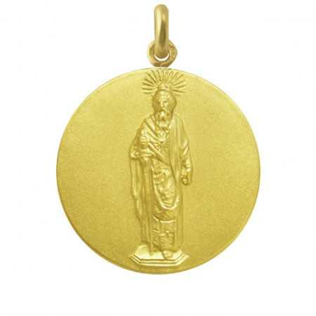 Medalla San Pablo Oro 18 kt.