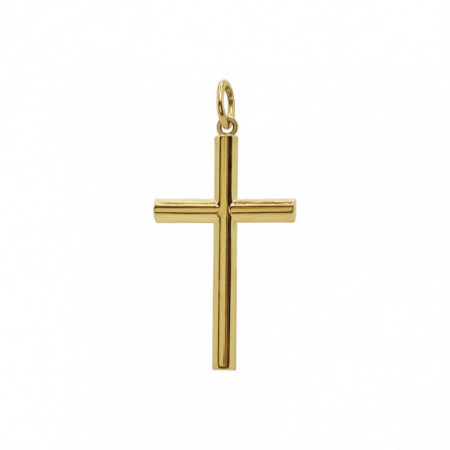 Solid Gold Cross TUBE XL