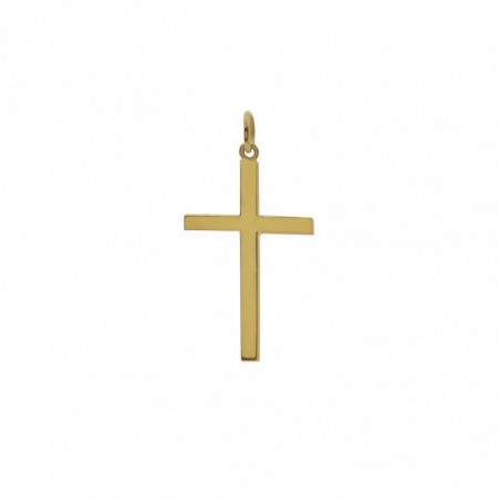 Solid Gold Cross STICK M
