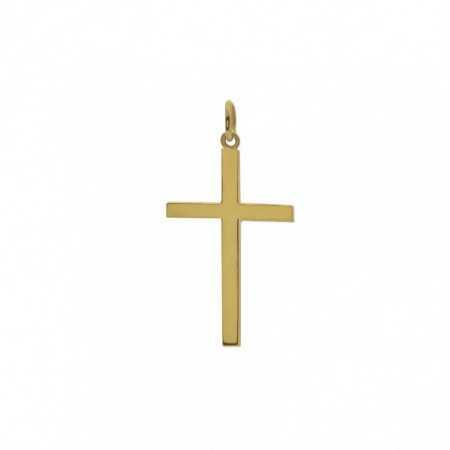 Solid Gold Cross STICK L