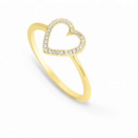 Anillo Oro LOVE HEART