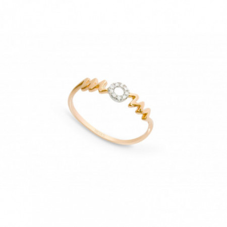 Anillo oro MOM MAMA MINI DETAILS