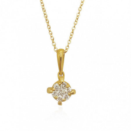 PUREZA PAVE Diamond Necklace