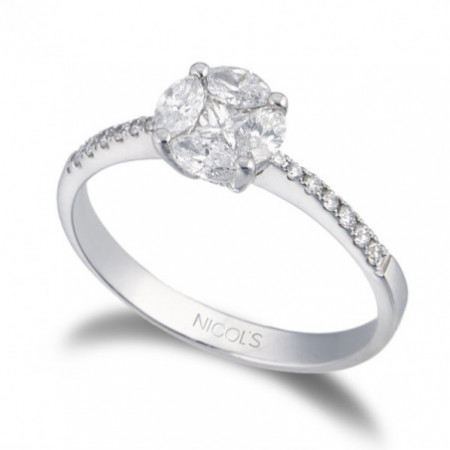 Anillo Pedida SPRING LOVE MED