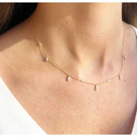 Collar Oro Gotas CELEBRITY 108