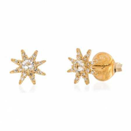 Pendientes Oro Estrella LITTLE DETAILS