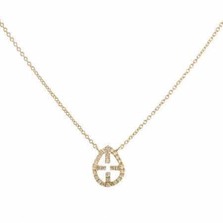 Collar Oro Cruz LITTLE DETAILS