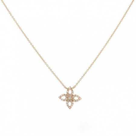 Collar Oro Flor Pico LITTLE DETAILS