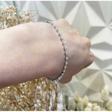 Pulsera Diamantes RIVIERE Barritas 0.60Ct.