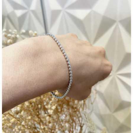 Pulsera Diamantes RIVIERE CHATON 0.85Ct
