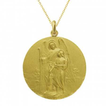 Medalla San Rafael Oro 18kt