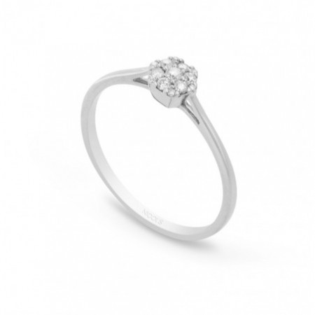 Anillo Diamantes Rosetón MINI DIAMOND