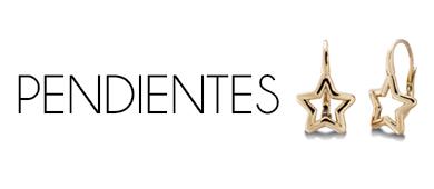 PENDIENTES de oro